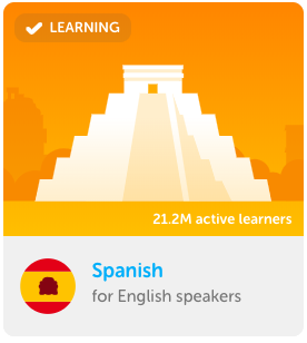 Duolingo spanish learning app