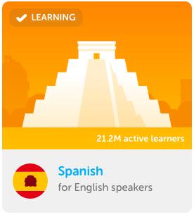 Duolingo Spanisch lernen App