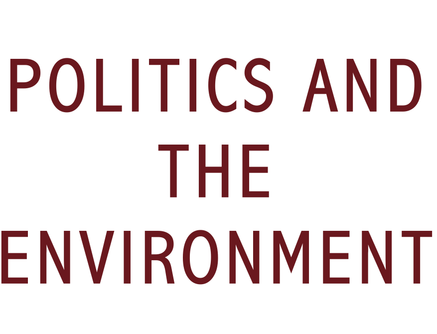 politics and the environment