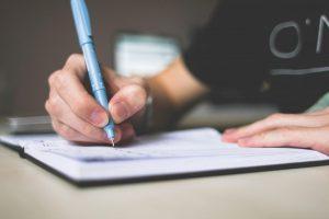 Verbesserung der englischen Schreibfähigkeiten