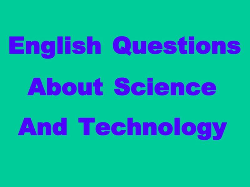английский научный разговор вопросы
