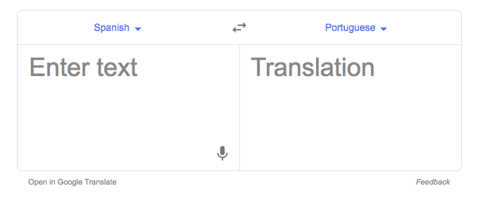 expectations in a translation device